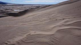 Большие национальный парк песчанных дюн и заповедник, Колорадо Стоковые Изображения RF