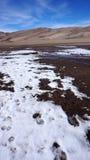 Большие национальный парк песчанных дюн и заповедник, Колорадо Стоковая Фотография