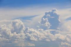 большие облака белые Стоковое фото RF
