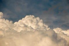 большие облака белые Стоковые Изображения RF