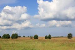большие облака Стоковые Фотографии RF