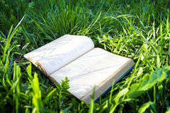 Большие лож старой книги раскрывают Стоковая Фотография RF