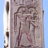 Большие руины Karnak Стоковая Фотография
