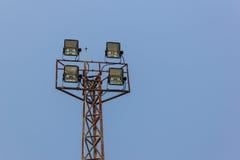 Большие света стадиона Стоковая Фотография RF