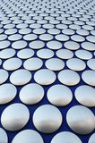Большие серебряные кнопки Стоковые Фото