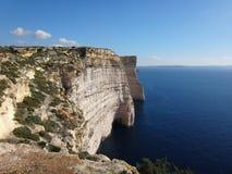 Большие скалы и море Стоковые Фотографии RF