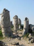 Большие утесы в Болгарии Стоковые Изображения