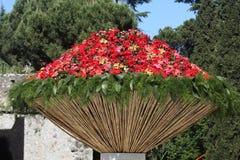 большие цветки Стоковое Фото