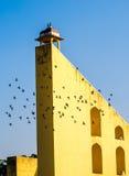 Большие часы на Jantar mantar Стоковое Изображение