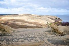 большие дюны Стоковая Фотография