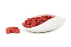 Большие ягоды goji Стоковые Изображения RF