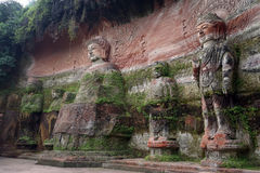 Большие buddhas стоковое фото