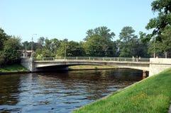 Большинств мост кадета Krasnogo Kursanta красный Стоковые Изображения RF