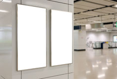 2 больших афиши пробела ориентации вертикали/портрета Стоковое Изображение RF