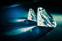 2 больших диаманта Стоковое фото RF