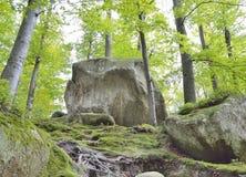 2 больших камня Стоковая Фотография