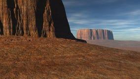 2 больших каньона на малом расстоянии Стоковые Изображения RF