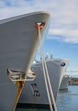 3 больших корабля Стоковые Фотографии RF