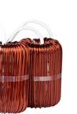 2 больших промышленных Toroidal дроссельной катушки Стоковая Фотография