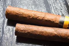 2 больших сигары Стоковая Фотография RF