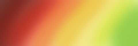 Большое абстрактное знамя в тенях градиента красные желтой и зеленый Стоковые Изображения RF