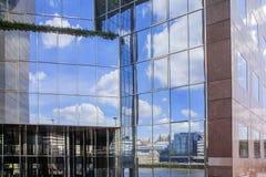 Большое административное здание Стоковое Изображение RF