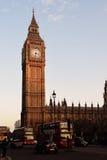 Большое Бен/башня с часами/башня Элизабета Стоковое Изображение RF