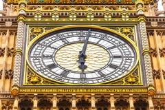 Большое Бен в Вестминстере, Лондоне Англии Великобритании Стоковое Изображение