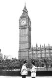 Большое Бен, Лондон, Великобритания. Стоковые Изображения