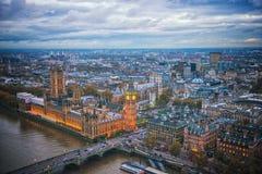Большое Бен, Лондон Великобритания Стоковое Изображение