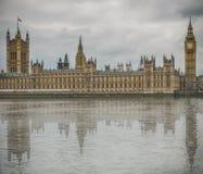 Большое Бен, дом парламента Стоковые Изображения RF