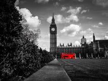 Большое Бен, парламент придает квадратную форму Стоковая Фотография RF