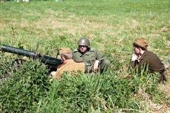 большое война реконструкции Стоковые Фото