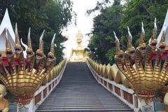 большое золото Будды стоковые фото