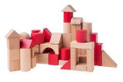 Большое здание кирпичей игрушки Стоковые Изображения RF