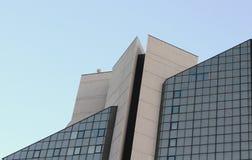 большое здание треугольника перспективы Стоковая Фотография RF