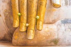 Большое изображение Будды в виске приятеля Wat Sri Стоковое фото RF