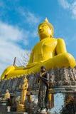 Большое изображение Будды Стоковые Фото