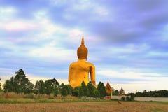 Большое изображение Будды Стоковая Фотография