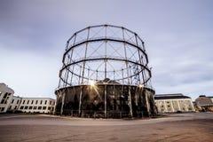Большое индустриальное строительство Стоковое Фото