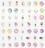 Большое корпоративное собрание логотипа компании всеобще Стоковая Фотография RF
