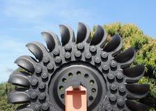 Большое колесо воды Стоковые Фотографии RF