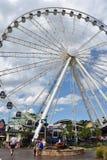 Большое колесо закоптелой горы на острове в Pigeon Forge, Теннесси Стоковое Изображение