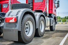 Большое колесо и трактор Стоковые Фото