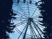 Большое колесо сети стоковые фотографии rf