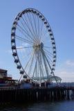 Большое колесо Сиэтл Стоковое Изображение