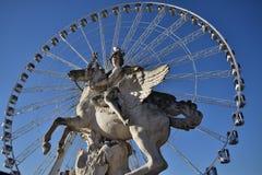 Большое колесо tuileries Стоковое Фото