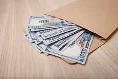 Большое количество долларов ждет свое предпринимателя Стоковая Фотография RF