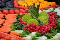 Большое количество свежих овощей Стоковая Фотография RF