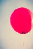 Большой красный воздушный шар Стоковые Фото
